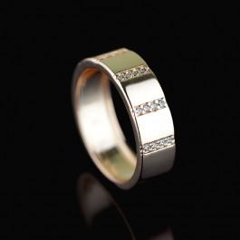 Позолоченное кольцо Fallon 83200640