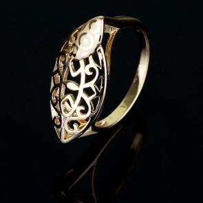 Позолоченное кольцо XP1592 фото | Brulik