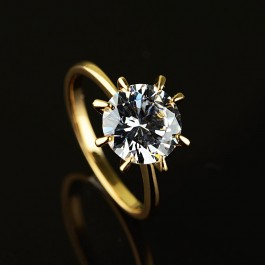 Позолоченное кольцо XP1956