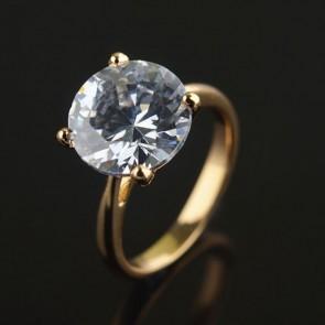 Позолоченное кольцо XP1965 фото | Brulik
