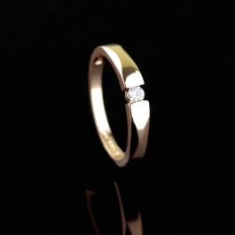 Позолоченное кольцо Fallon 83201506