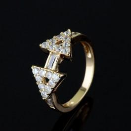 Позолоченное кольцо XP 1736