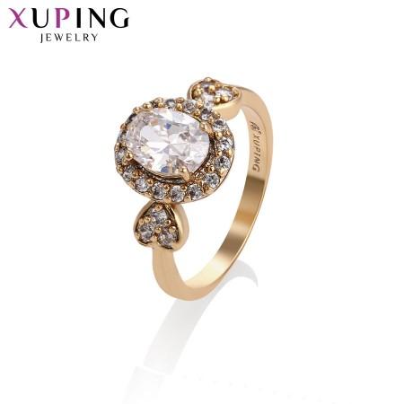 Позолоченное кольцо XP13548 фото | Brulik