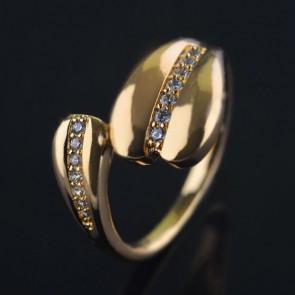 Позолоченное кольцо XP1966 фото | Brulik
