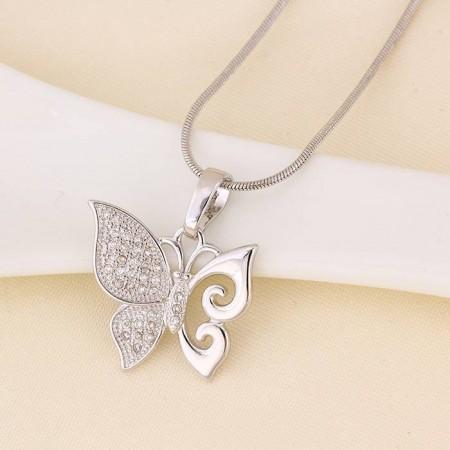 Красивая Бабочка кулон 31283 фото | Brulik