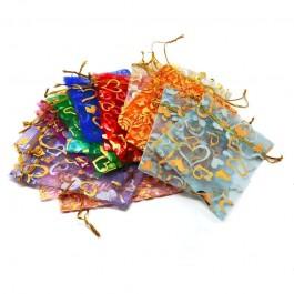 Мешочки 10шт из органзы для бижутерии