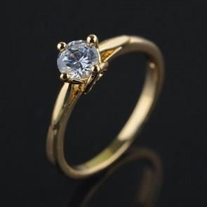 Позолоченное кольцо XP 1612 фото | Brulik