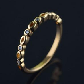 Позолоченное кольцо XP1616 фото | Brulik