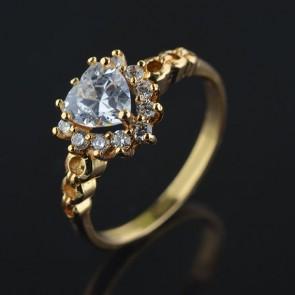 Позолоченное кольцо XP 1655 фото | Brulik