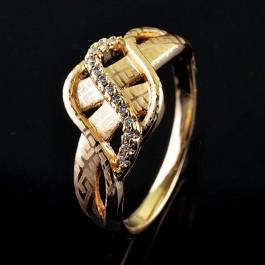 Позолоченное кольцо XP1909