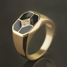 Позолоченное кольцо XP 1701