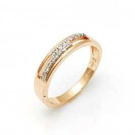 Позолоченное кольцо Fallon 9320117