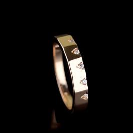 Позолоченное кольцо Fallon 83201507