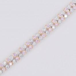 Изумительный браслет Xuping 10-7038 - розовый