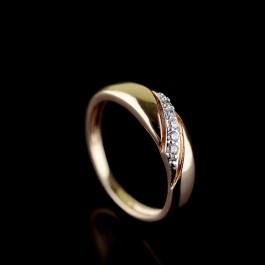 Позолоченное кольцо Fallon 93200023
