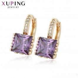 Привлекательные серьги 27908-фиолетовый