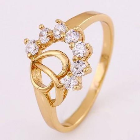 Милое кольцо женское 12136 фото | Brulik