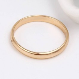 Утонченное позолоченное кольцо 13766
