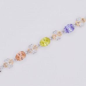 Шикарный ювелирный браслет 10-7015 - мультиколор фото | Brulik