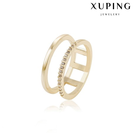 Позолоченное кольцо XP14864 фото | Brulik