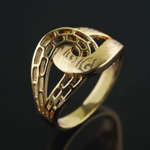 Позолоченное кольцо XP1964 фото | Brulik
