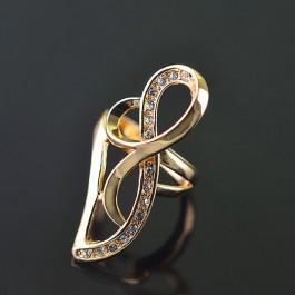 Позолоченное кольцо Fallon 8321047