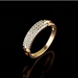 Позолоченное кольцо Fallon 93201218