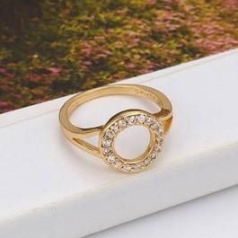 Неповторимое кольцо с фианитами оптом 13446
