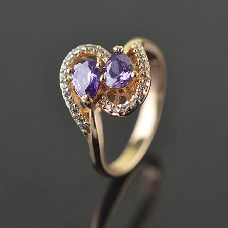Позолоченное кольцо XP12657 фото | Brulik