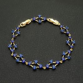 Фееричный браслет 18К 10-7017 - синий