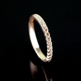 Позолоченное кольцо Fallon 83200746