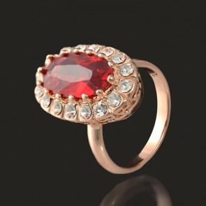 Позолоченное кольцо Fallon 83200611 фото | Brulik