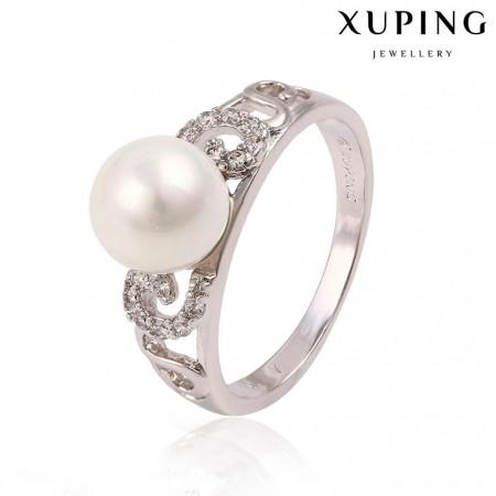 Прекрасное кольцо с жемчугом 13760 фото | Brulik
